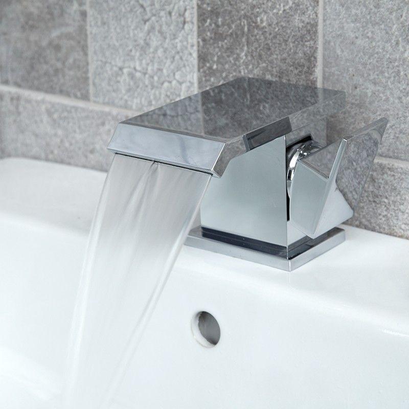 59 95 Aqua Waterfall Basin Mixer Tap