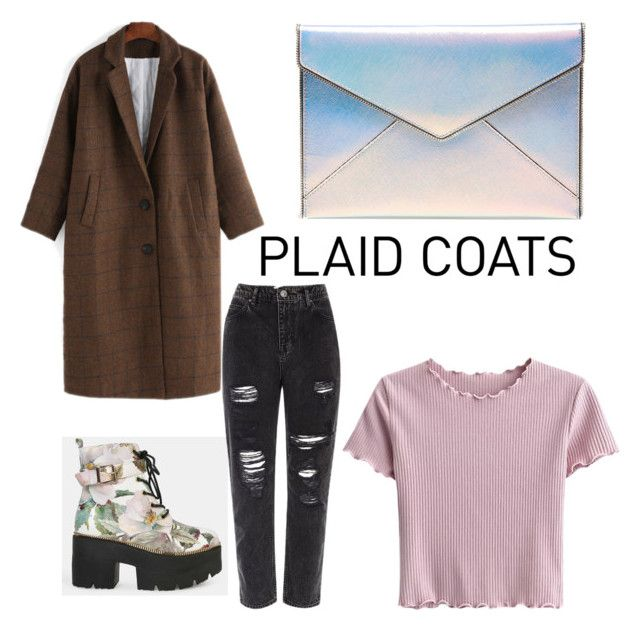 """Plaid coats contest #plaidcoats"" by niahisabeld on Polyvore featuring Rebecca Minkoff and River Island"