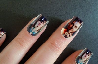 Asking Alexander Photo Nails, Danny Worsnop & Ben Bruce can I do this with just Kellin Quinn all over my nails oh my geez