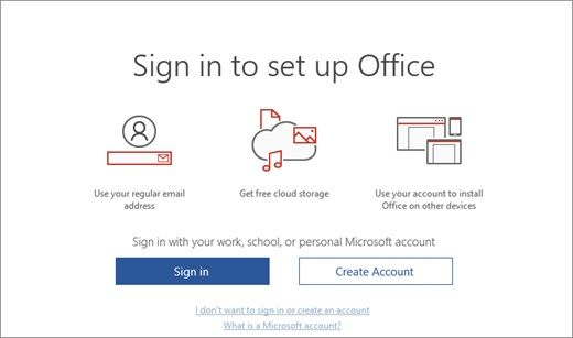 Where to Enter my Office setup product key to activate
