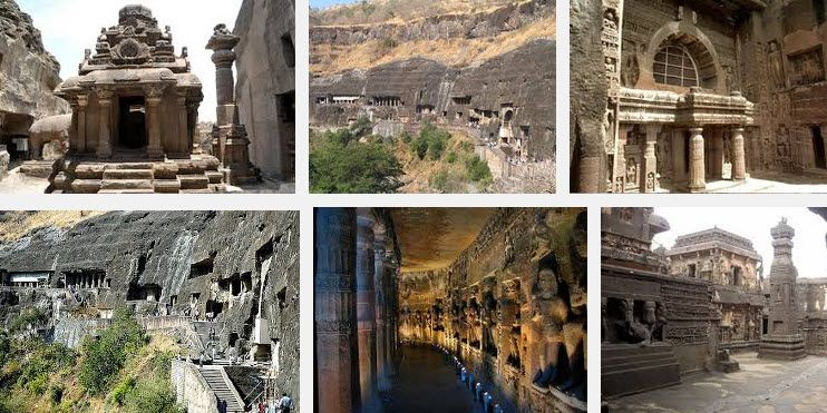 Ajanta and Ellora A great spectacle in Indian Art tradition unveiled