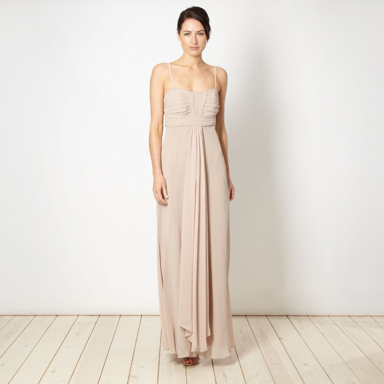 Debut light brown ruched bust maxi dress at debenhams debut light brown ruched bust maxi dress at debenhams currently in the sale ombrellifo Gallery