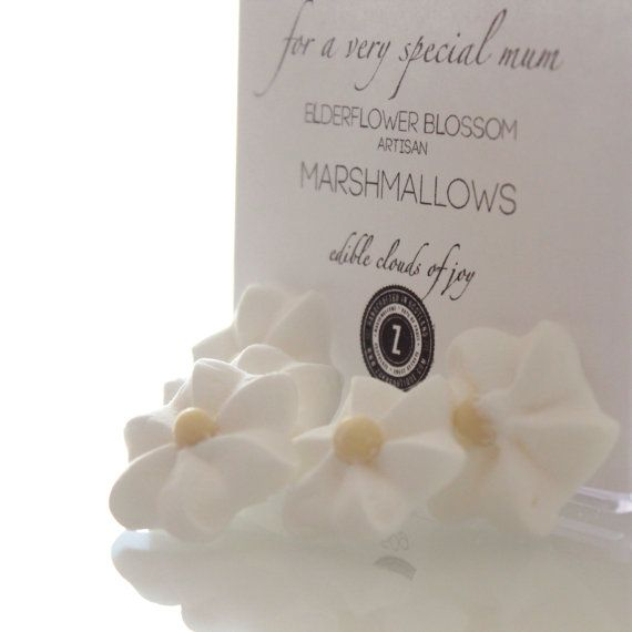 Mother's Day Elderflower Blossom Marshmallows on Etsy, $10.21forget holiday but looks cool