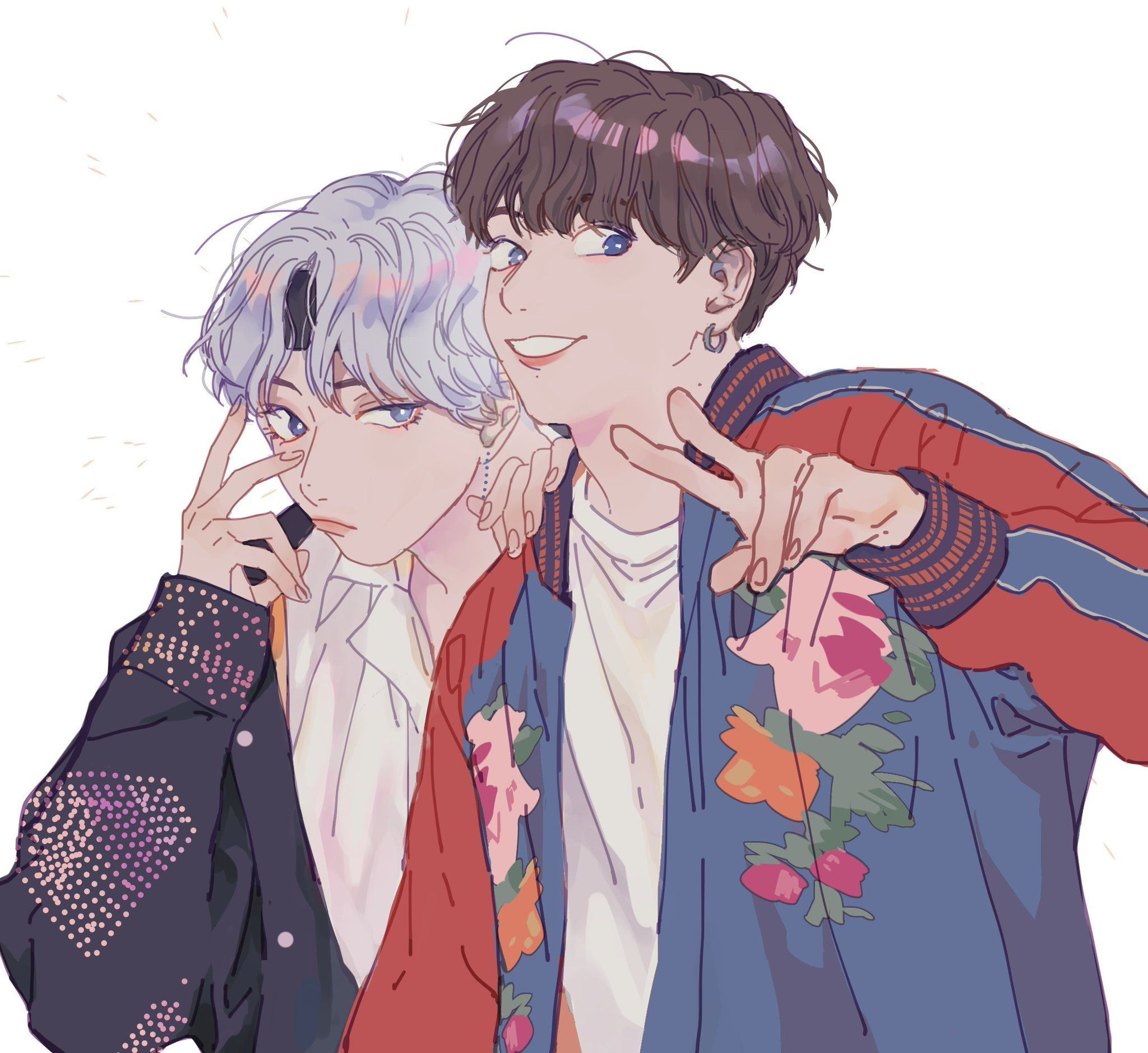 Image By A Little Life On K Pop Taekook Bts Fanart Vkook Fanart