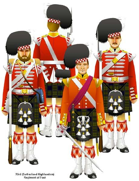 Uniforms of the British Army in the Crimean War-The Sutherland Highlanders