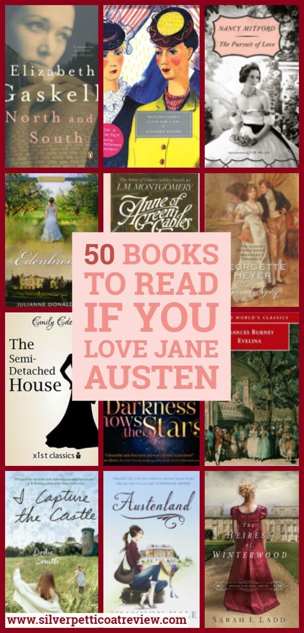 50 Books To Read if you Love Jane Austen is part of Historical romance books, Books to read, Regency romance novels, Regency romance books, Classic books, Feminist books - If you adore everything about Jane Austen novels, here are 50 other book recommendations to check out  From classics, contemporary, to even a little SciFi
