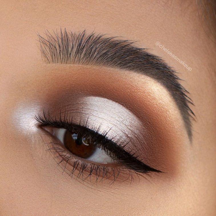 74 Gorgeous Eye Makeup Looks For Day And Evening #makeup #eyemakeup #mua #beauty #eyeshadow
