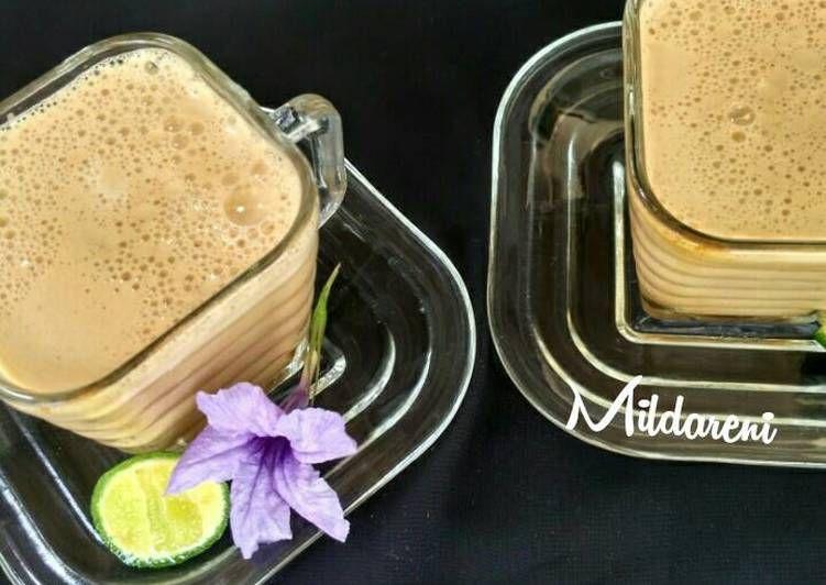 Resep Teh Talua Oleh Mildarenikitchen Resep Teh Resep Minuman