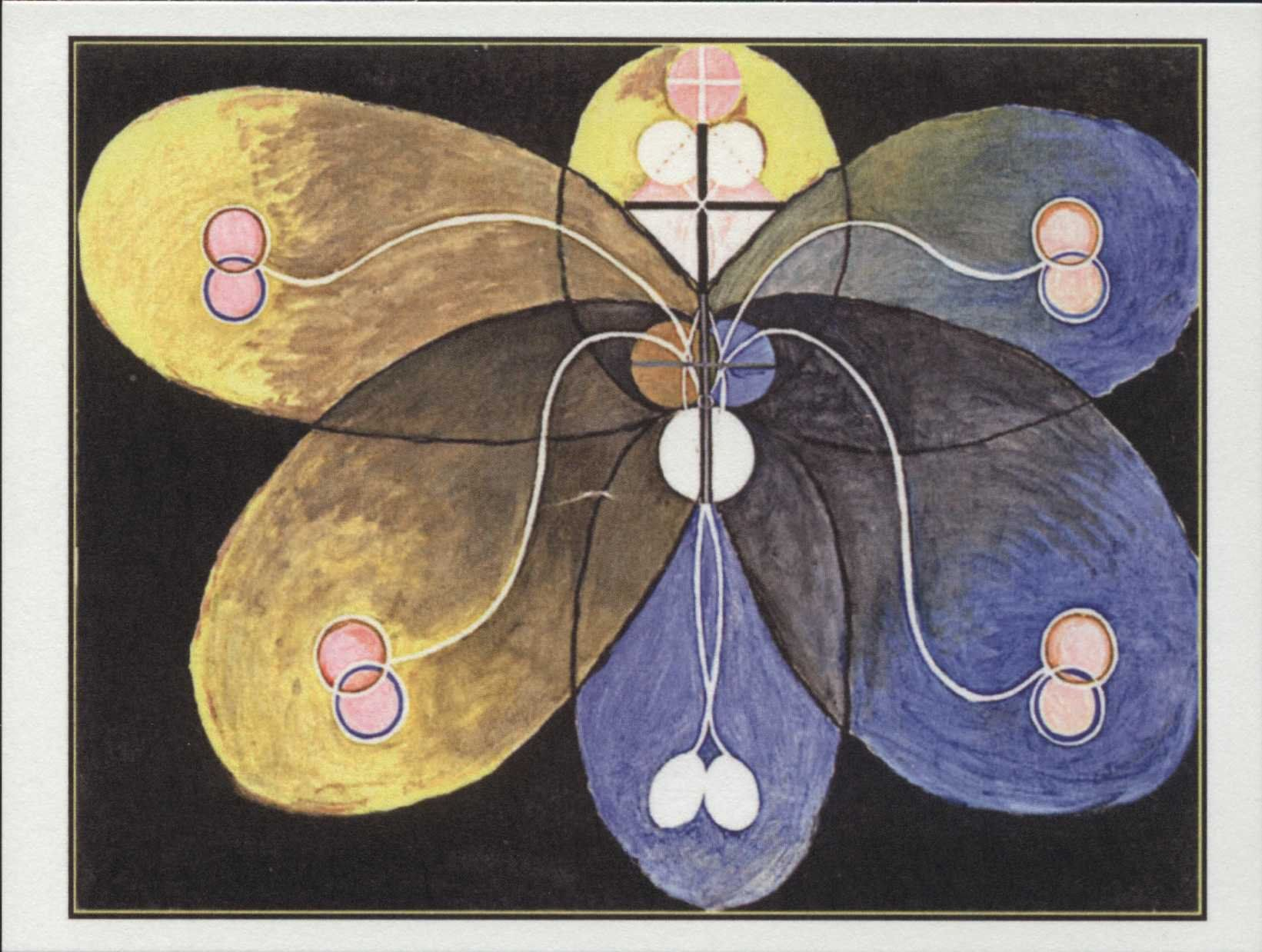 Art, Hilma af Klint, Evolution, No. 09, Group VI, 1906-1907, Modern, Museum  Quality, Postcard Z657536 by markopostca… | Hilma af klint, Stretched  canvas prints, Art