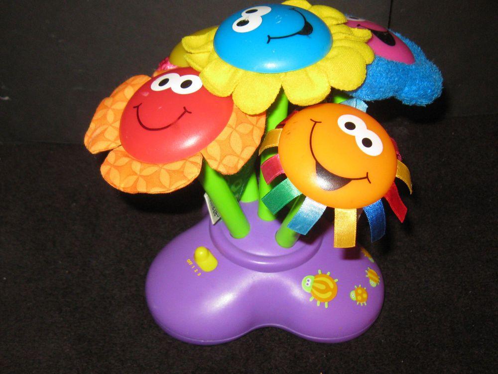 Lamaze Flower Chime Garden Music Lights Sensory Baby Toy Lamaze