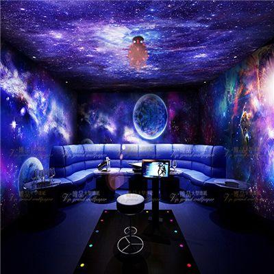 Starry Night Sky Room Wallpaper Sok Pa Google Space Themed