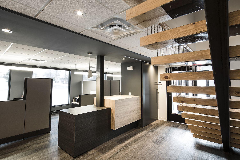 Bureau de reception bureaux commerciaux commercial entrée