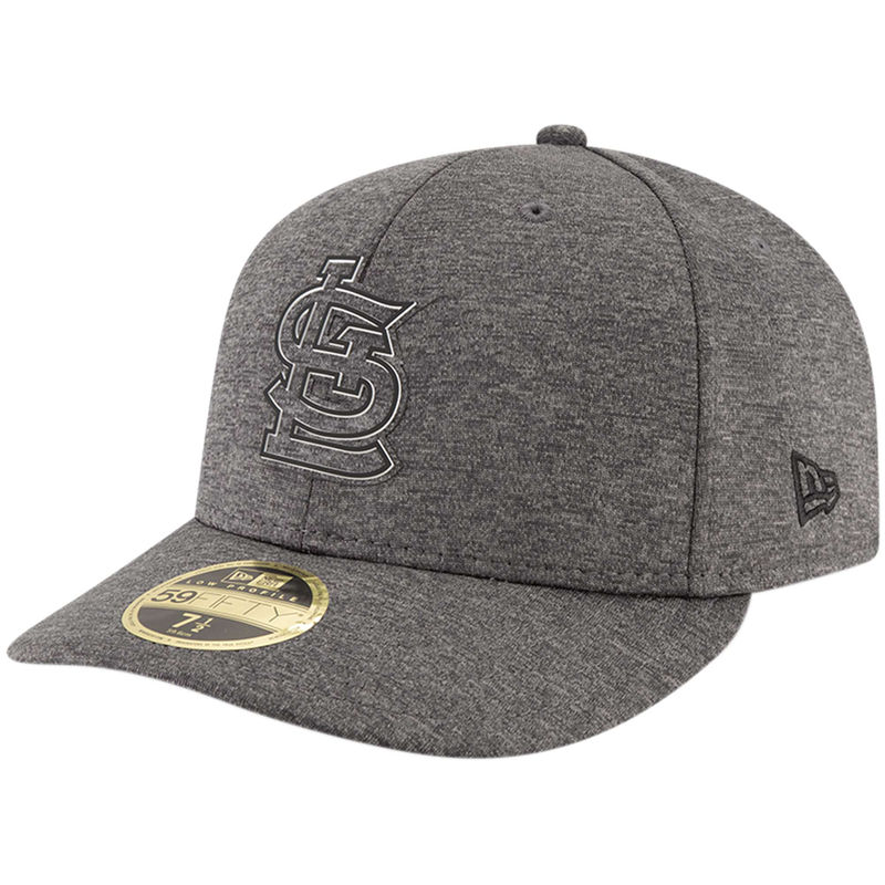 purchase cheap bf11a f5adc St. Louis Cardinals New Era 2018 Clubhouse Collection Low Profile 59FIFTY  Fitted Hat - Graphite