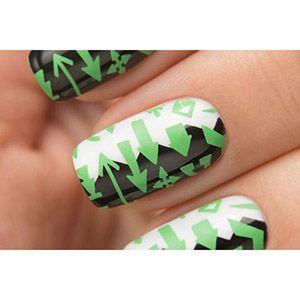 Dance Legend- Stamping Polish- Green