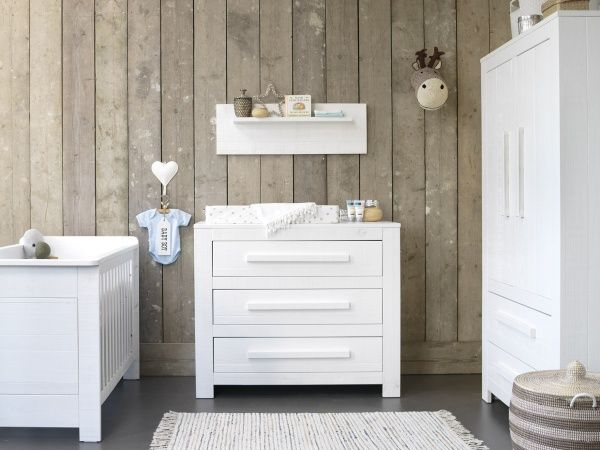ledikant - commode salt wit | coming kids | baby-dump | baby kamer, Deco ideeën