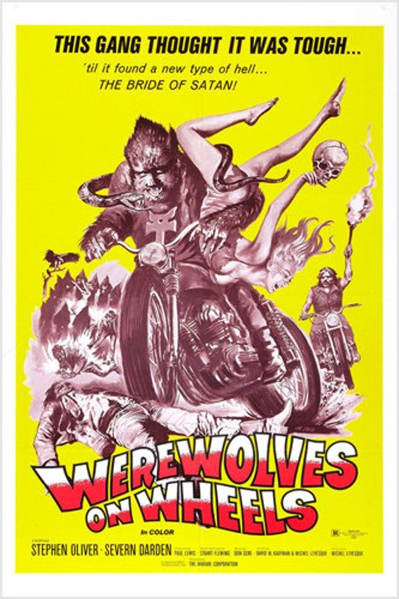Chopper Chicks In Zombietown Movie Poster 24x36