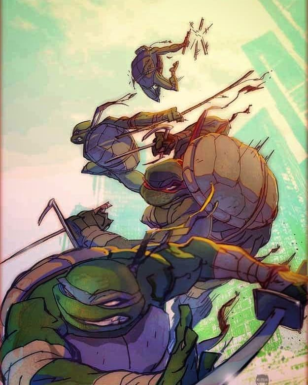The Turtles! Mines Curse A Little By The Way. Lol