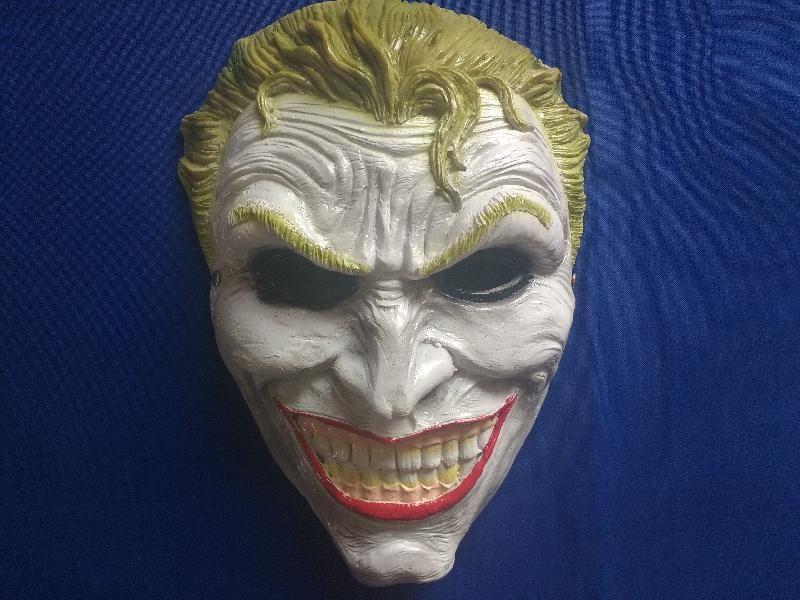Máscara The Joker Nuevo   179 Máscara de Fibra de Vidrio de The Joker 0af38863a1f46