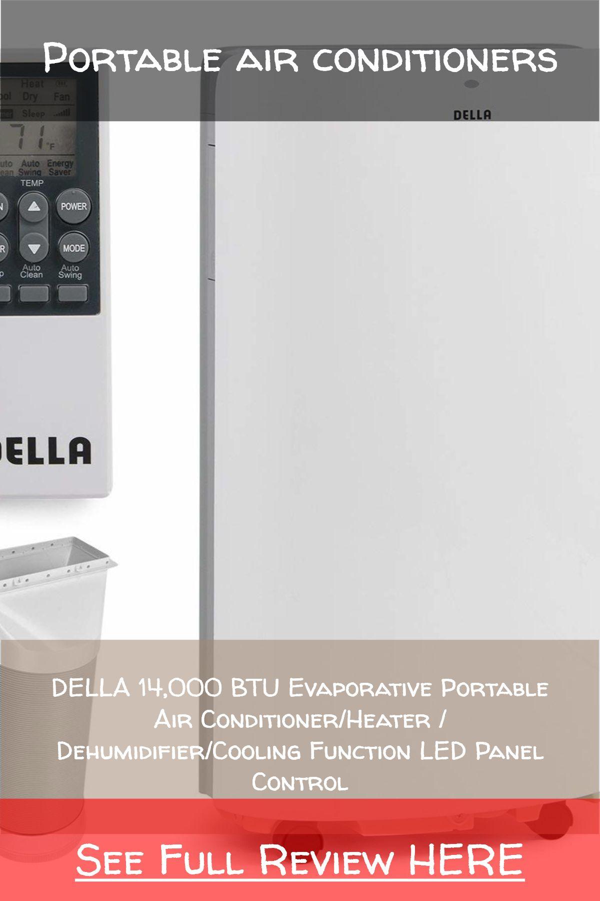 Portable air conditioners / DELLA 14,000 BTU Evaporative