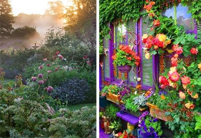 10 beaux jardins vus sur pinterest yards landscaping and gardens - Pinterest Jardin