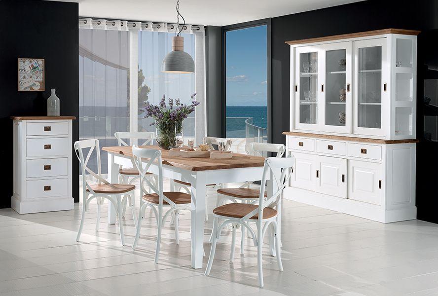 Decouvrez La Collection Castelbay Un Mobilier Classique Et Chic Mobilier Classique Decoration Maison Meuble Bois Massif