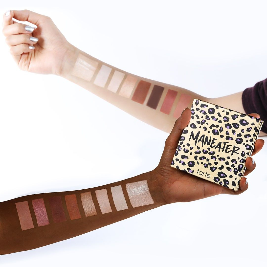 Swatches of our NEW #maneater eyeshadow palette! Available NOW on ...