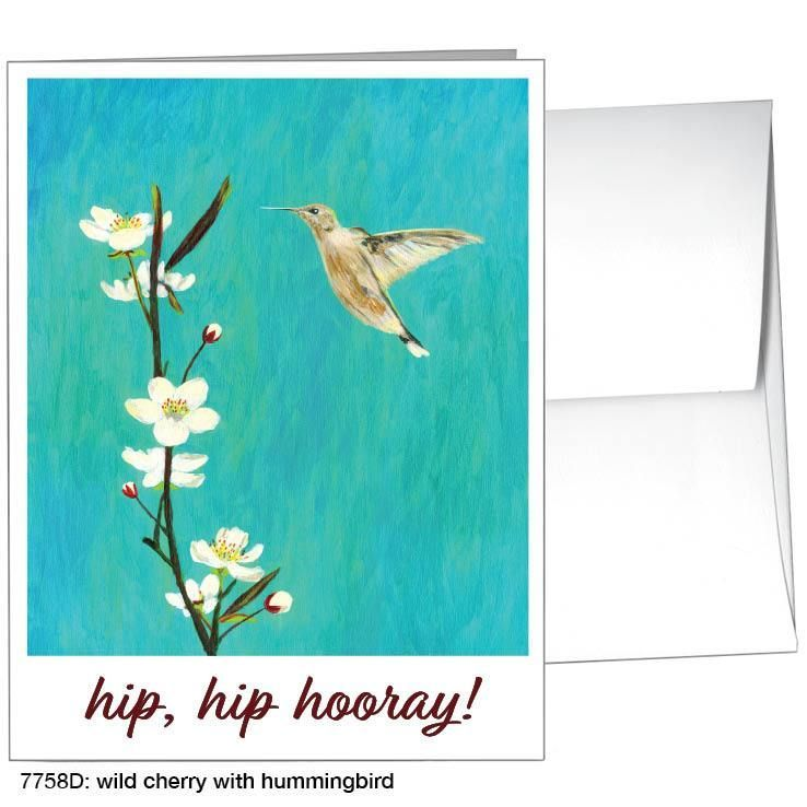 wild cherry with hummingbird (#7758d)