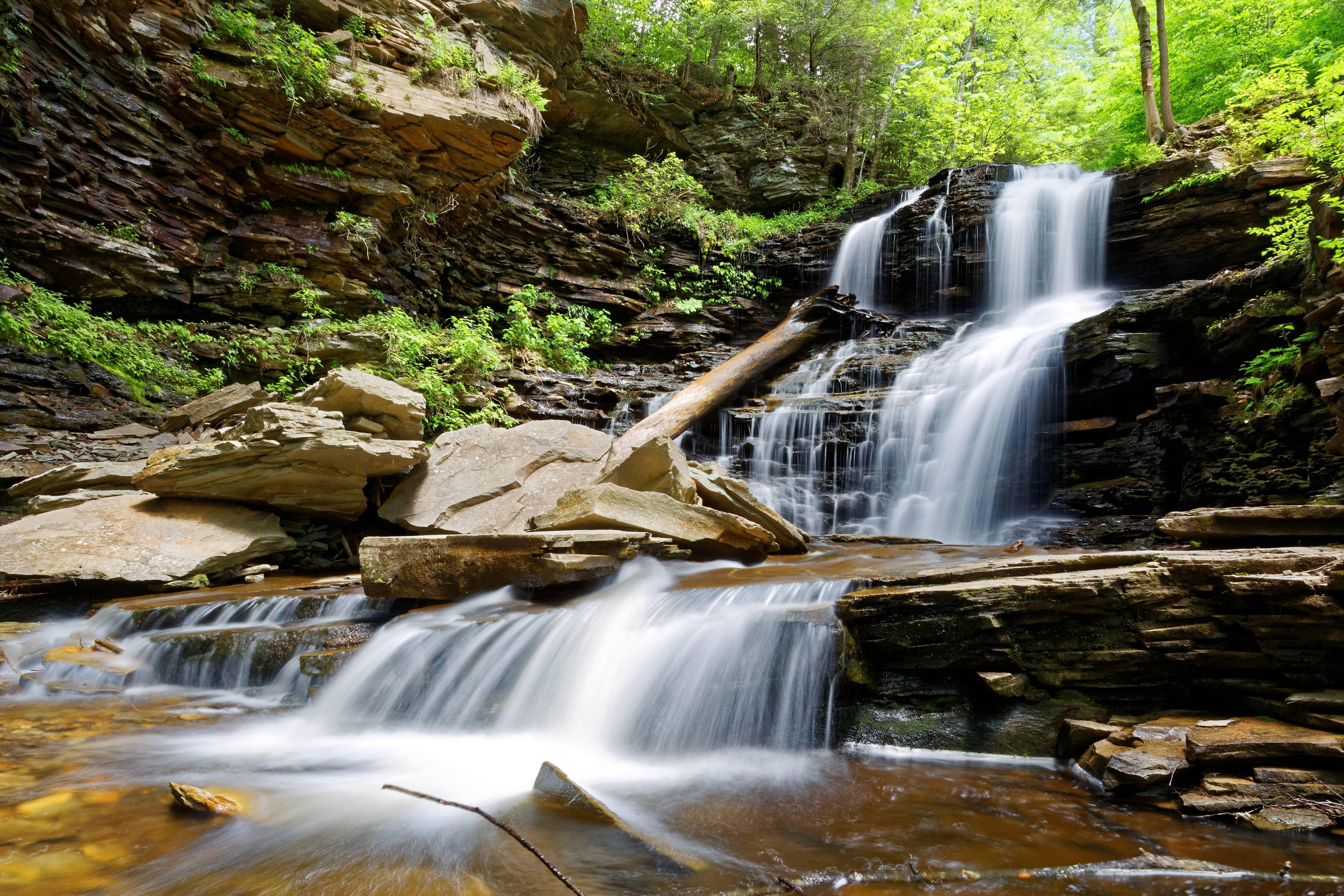 Shawnee falls ricketts glen pennsylvania x oc