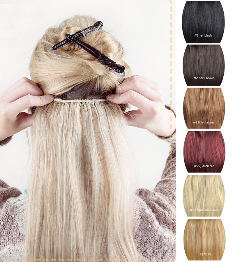 20 One Piece 5 Clip In One Piece 100 Real Human Hair Extension