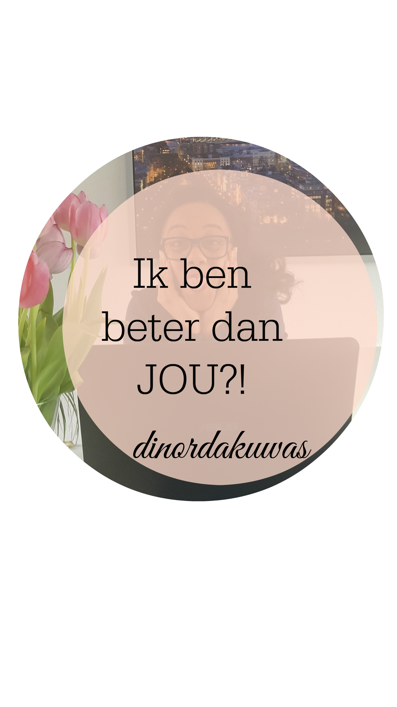 Ik ben beter dan jou! Hoe zit het met de ander? Dit is echter niet waar het bij God om draait. Hij zegt in Zijn woord acht jezelf niet beter dan de ander! Hoe zit dat bij jou? www.dinordakuwas.nl