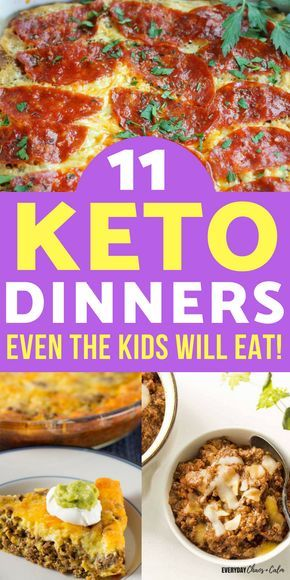 11 Keto Dinner Recipes Even Your Kids Will Love #ketodietforbeginners