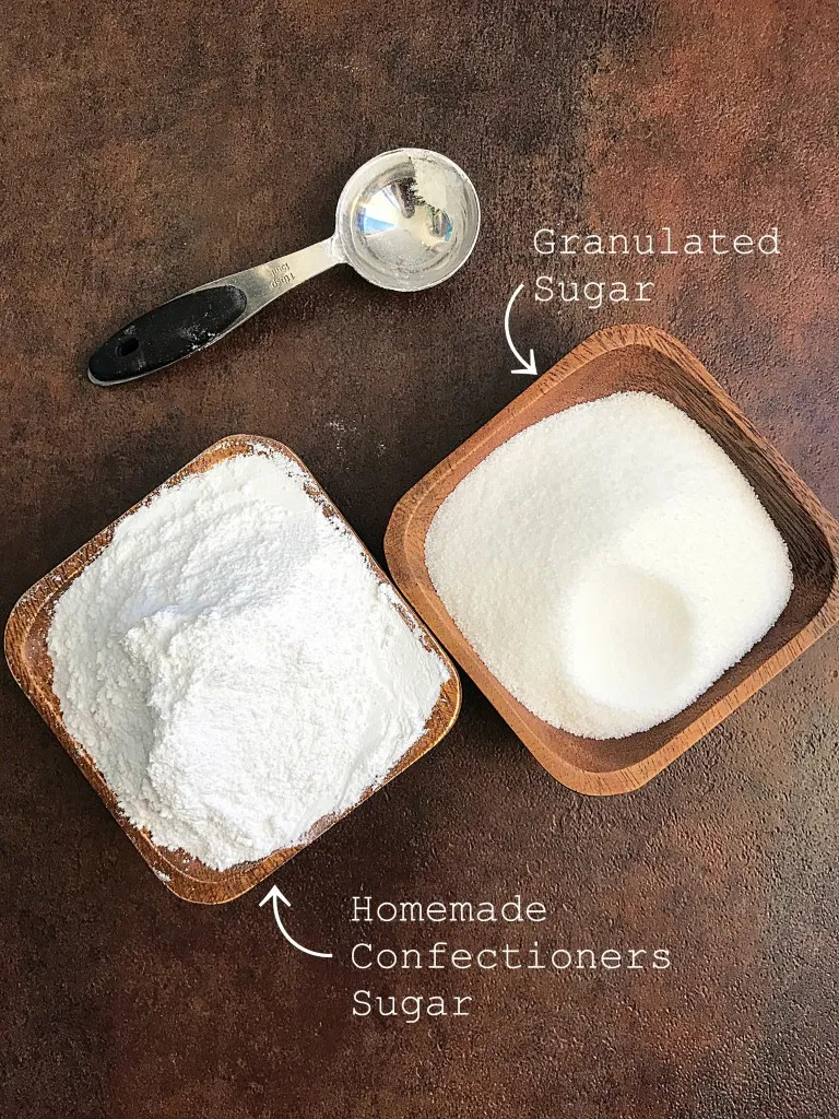 homemade powdered sugar in 2020 (With images ...
