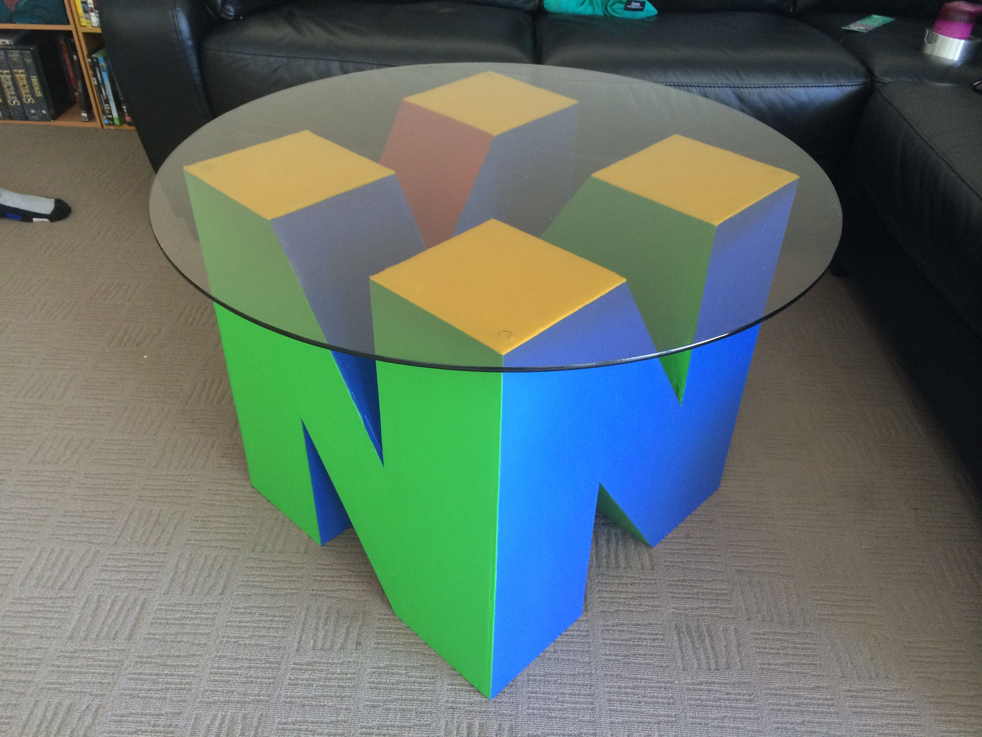 Nintendo N64 Coffee Table game room furniture