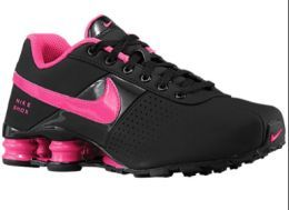 f8503ef33761c4 Available   TrendTrunk.com NIKE SHOX BLACK AND HOT PINK SHOES Flats. By NIKE  SHOX BLACK AND HOT PINK SHOES. Only  93.00!
