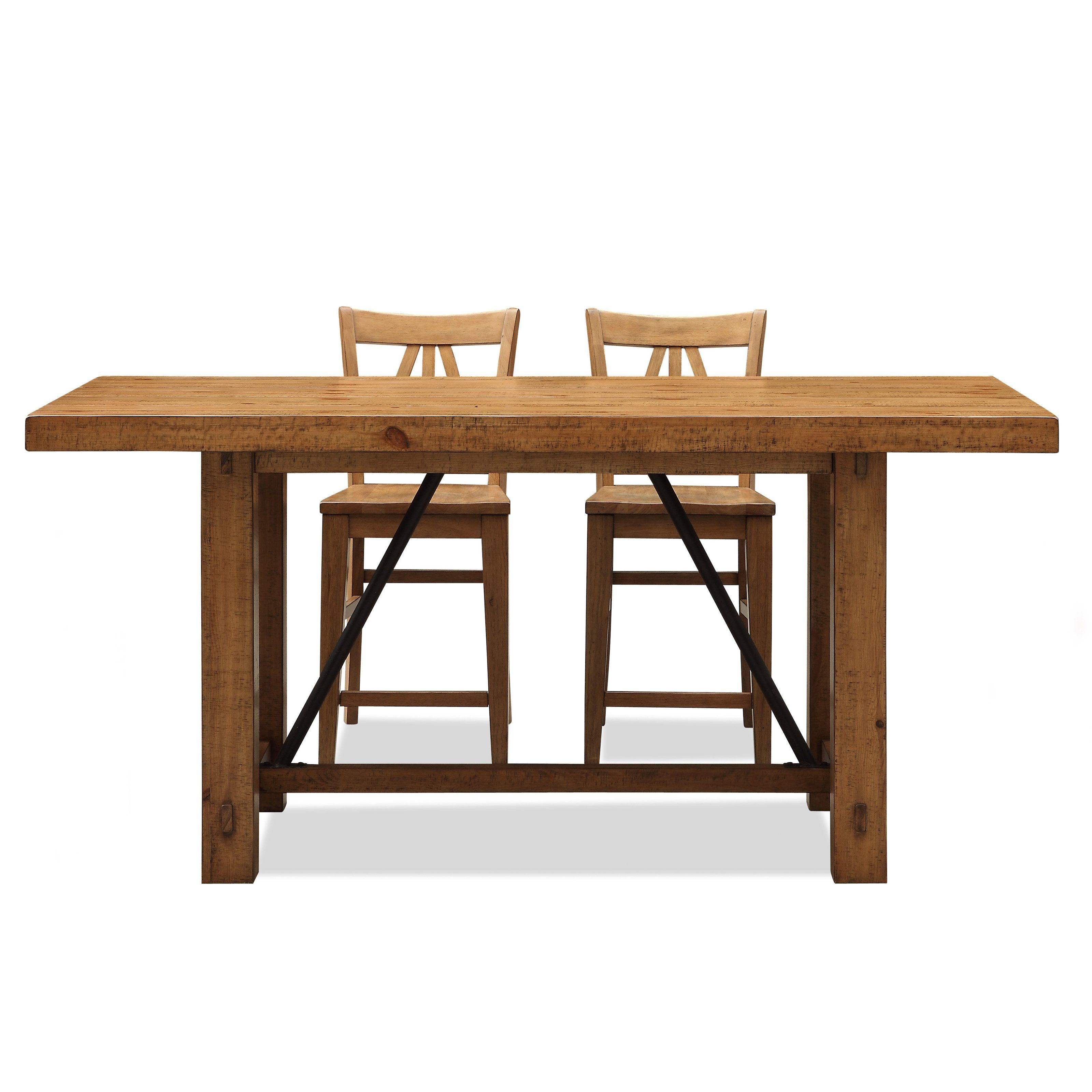 Summerhill Trestle Counter Height Dining Table | from hayneedle.com ...
