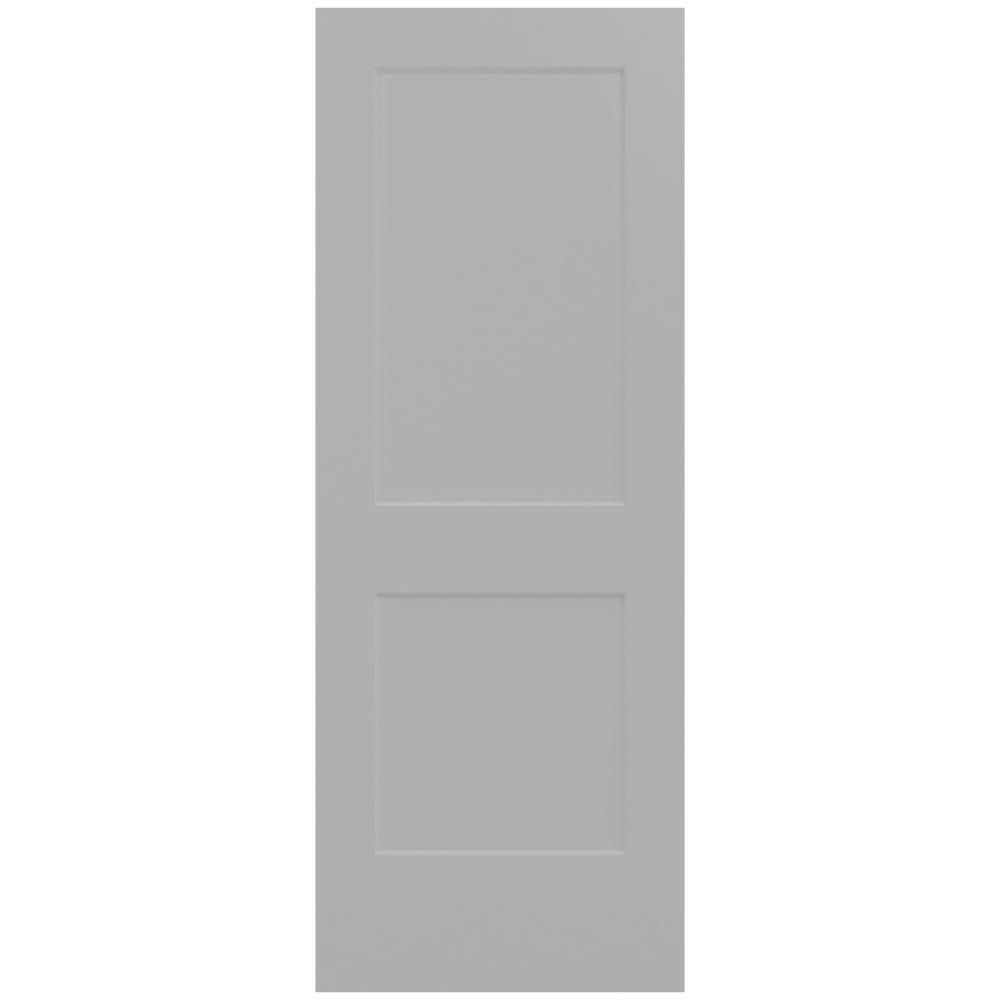 Jeld Wen 30 In X 80 In Monroe Driftwood Painted Smooth Solid