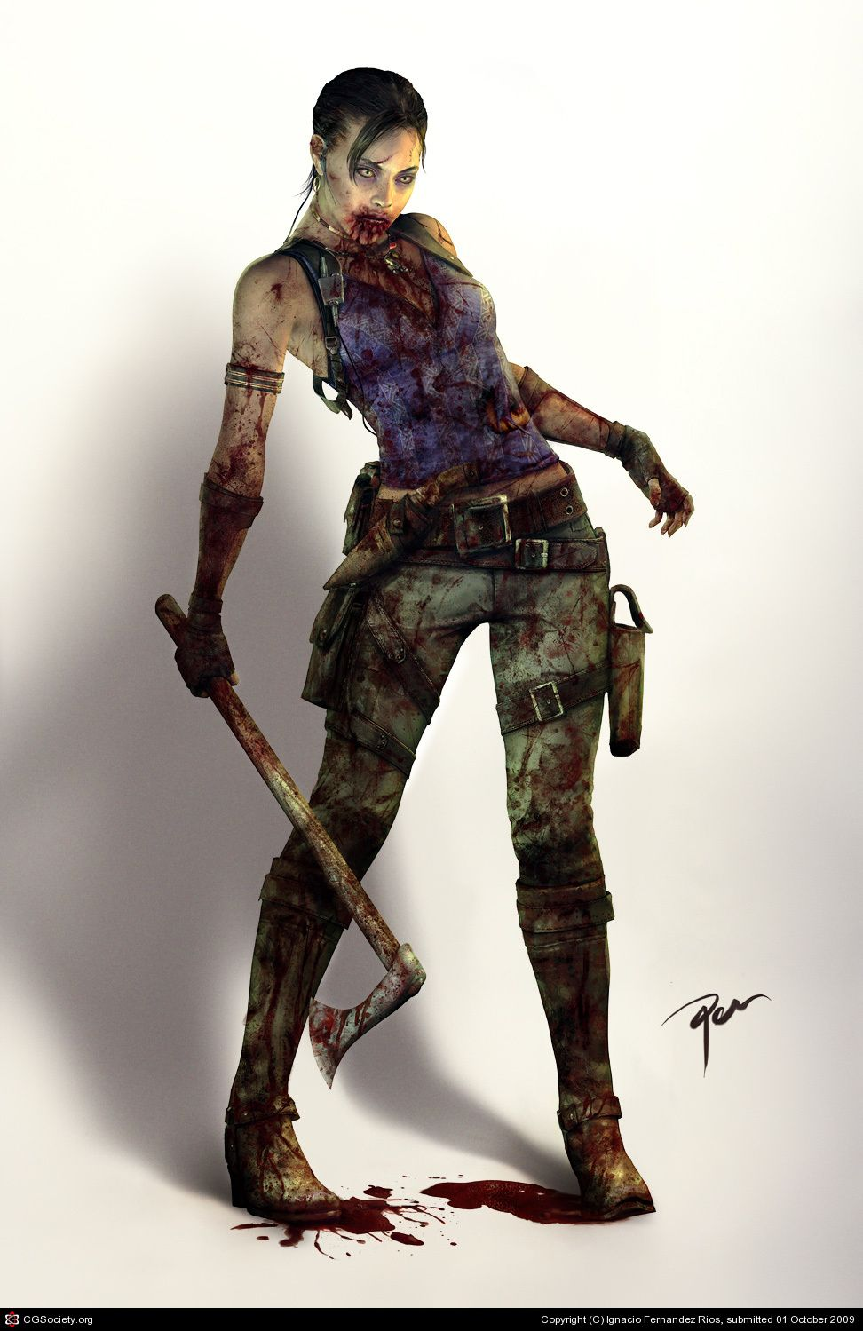 Sheva Alomar Resident Evil 5 If Only This Really Could