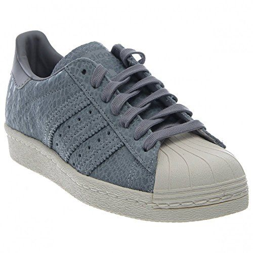 Adidas SUPERSTAR 80s W CLGREYCLGRE Womens Shoes S81327 95 >>> You ...