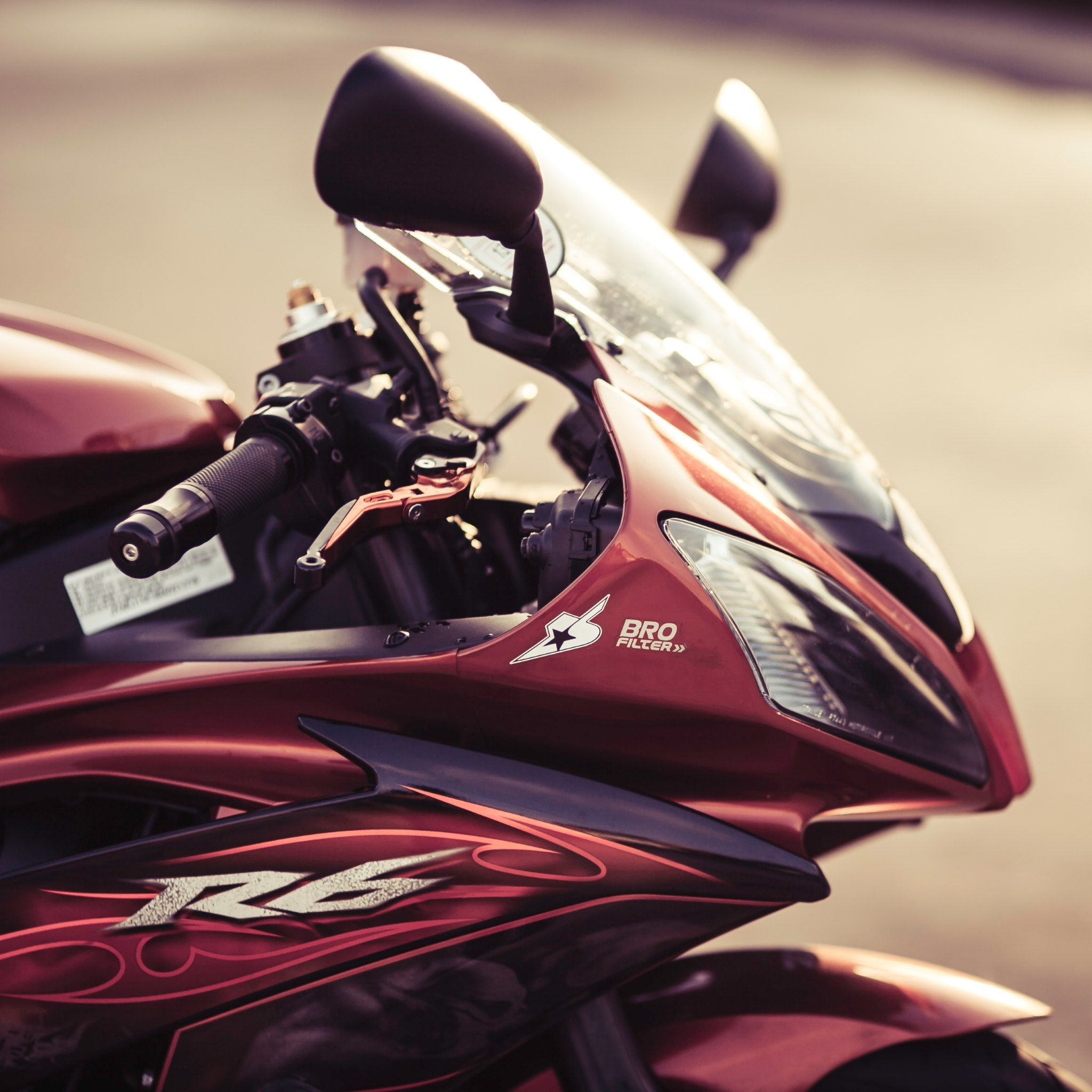 Yamaha R6 Motorcycle #wallpapers #image #pictures #photos