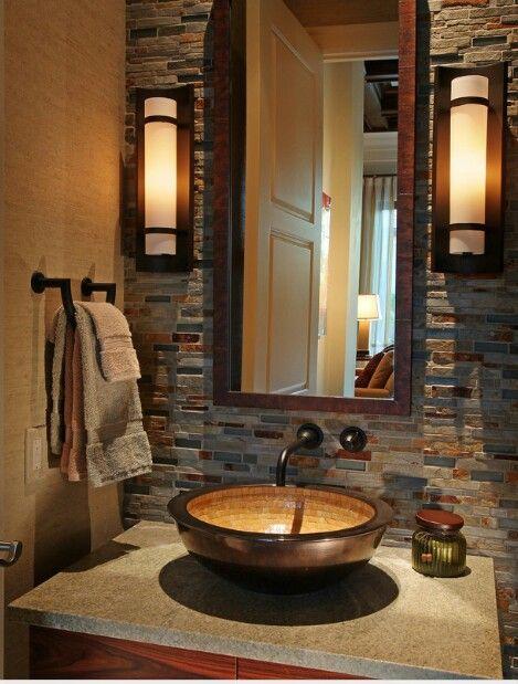 Tenaaaannggg Bathrooms remodel Pinterest Powder room