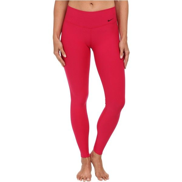 Shop Women's Nike Pink size L Leggings at a discounted price at Poshmark.