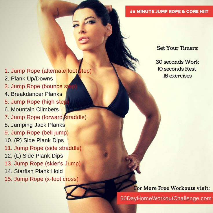 jump rope to lose belly fat