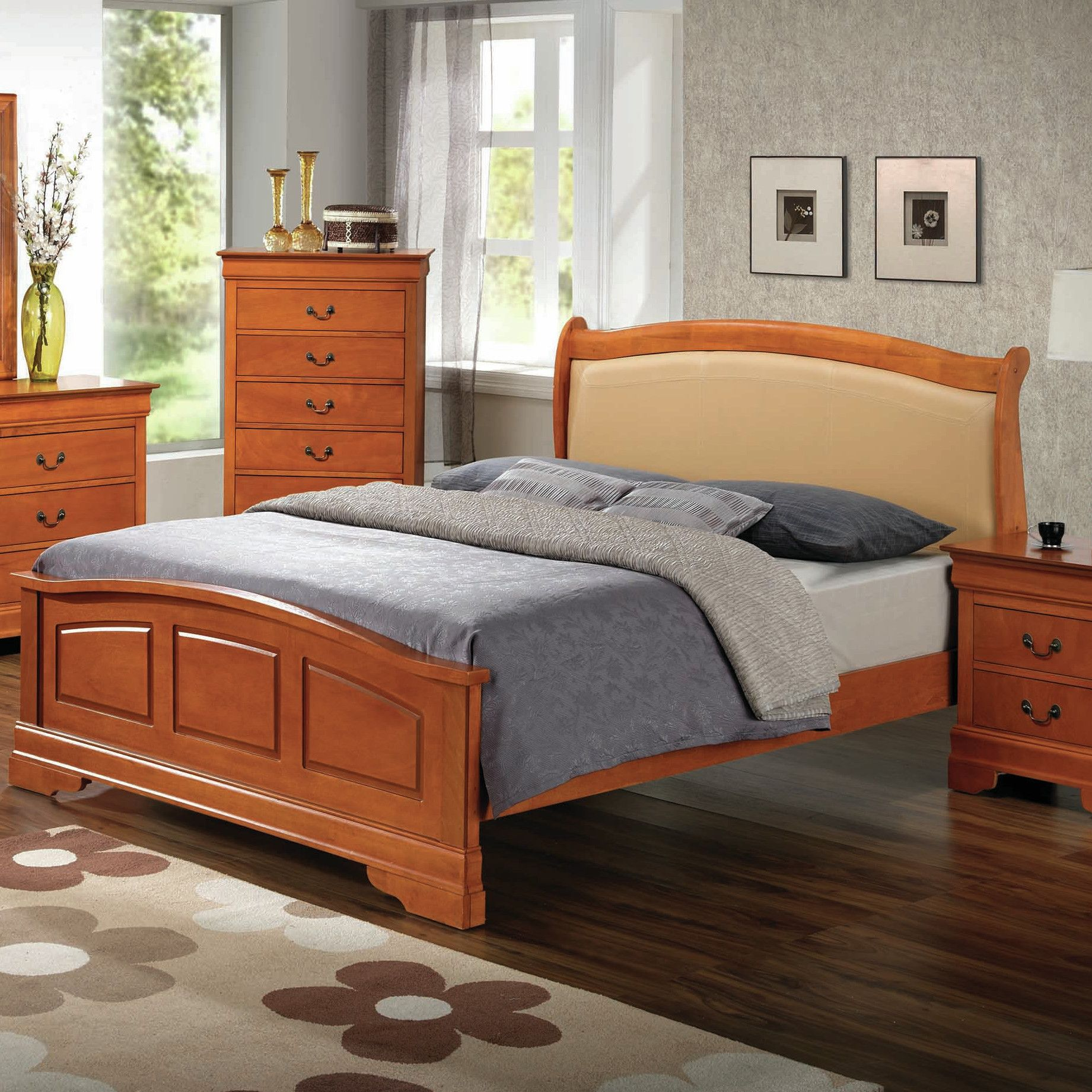 Adriana Upholstered Bed
