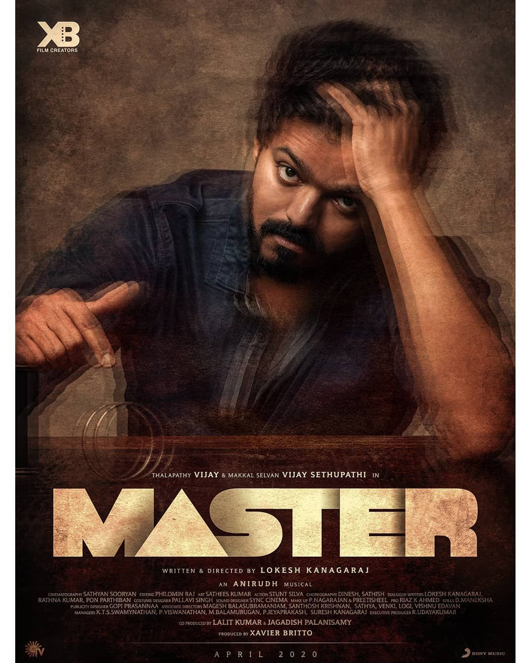 1 215 Likes 19 Comments Master Thalapathy 64 On Instagram Thalapathy 64 Titled As Master Stay Tuned Master Music Vijay Actor Tamil Ringtones