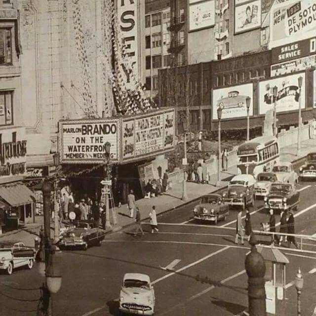 Jersey City History Journal Square 1954 And Look What Was Showing On The Marquee Jersey City Show Place Union City