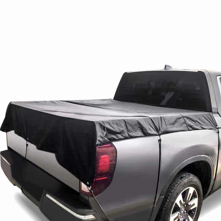 Audew 6.25' x 6.25' Tear Resistant Truck Bed Tarp Truck