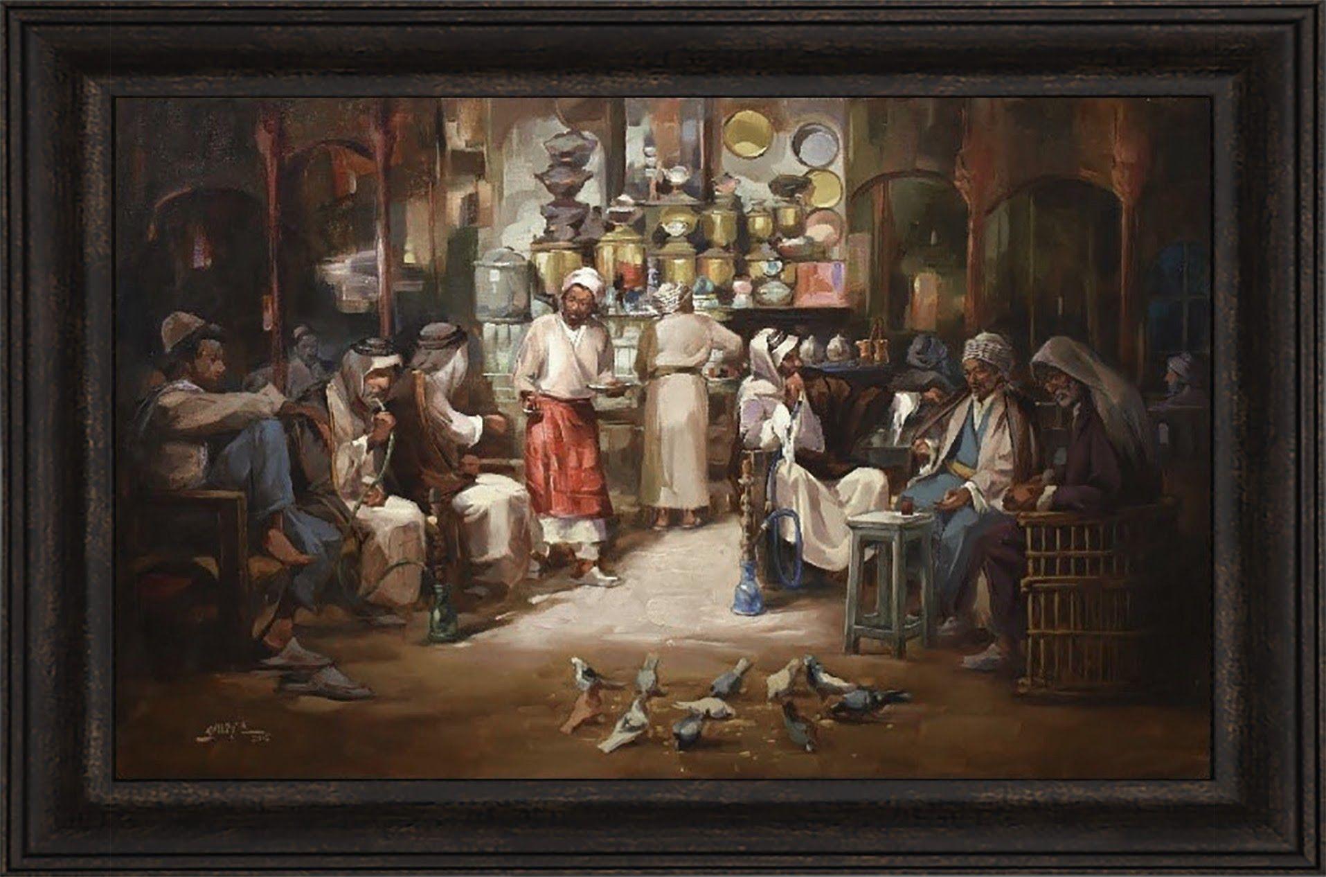 Iraqi Art Painting By Amer Ali Art Painting Artwork