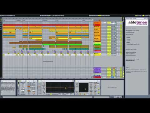 Deep House Ableton Live Template Decoder By Abletunes Music