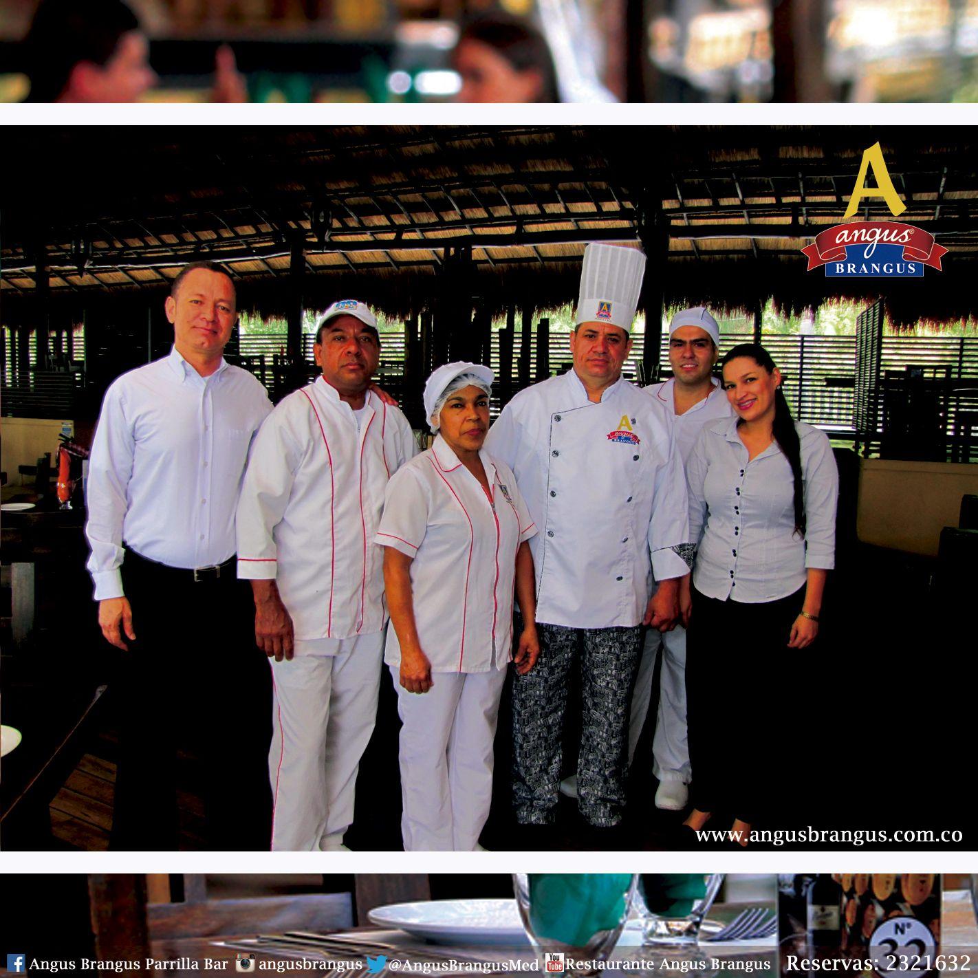 Los esperamos en Angus Brangus con nuestros profesionales de la gastronomía internacional. Ellos, preparan todos sus platos con mucha dedicación y cuidado. ¡Te esperamos!.   www.angusbrangus.com.co   #AngusBrangus #Medellín #Restaurantes #Gastronomía