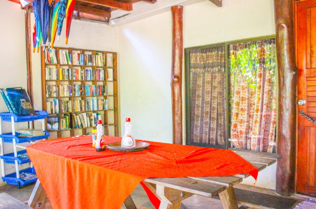 Common area  Vista Drake Lodge Drake Bay, Osa Peninsula Costa Rica #travel #budget #vacation
